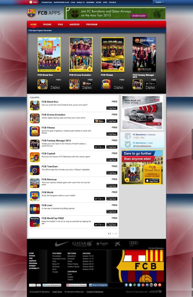 FCB Apps   FC Barcelona